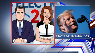Tooning Out The News - 10/29/20 SUPER PANEL ELECTION COVERAGE (Larry Sabato)