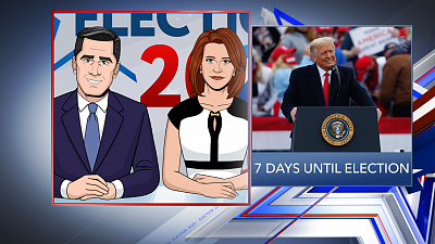 Tooning Out The News - 10/27/20 SUPER PANEL ELECTION COVERAGE (John Harris)