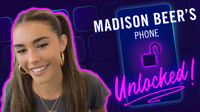 The Late Late Show with James Corden - Madison Beer's Phone Unlocked