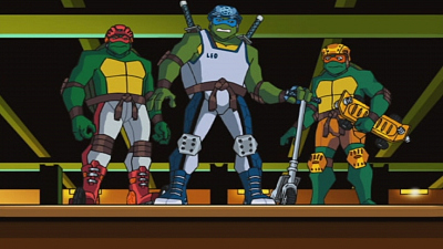 Teenage Mutant Ninja Turtles - Web Wranglers