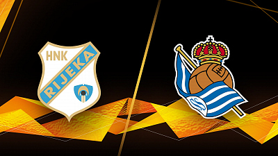 UEFA Europa League - Full Match Replay: Rijeka vs. Real Sociedad