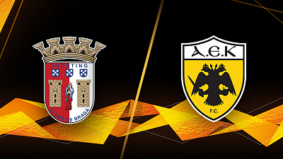 UEFA Europa League - Full Match Replay: Braga vs. AEK Athens