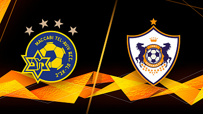 UEFA Europa League - Full Match Replay: M. Tel-Aviv vs. Qarabag