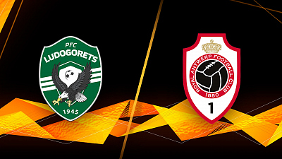 UEFA Europa League - Full Match Replay: Ludogorets vs. Antwerp