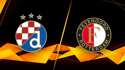 UEFA Europa League - Full Match Replay: Dinamo Zagreb vs. Feyenoord