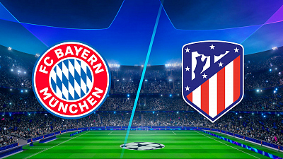 UEFA Champions League - Bayern vs. Atletico - 3pm ET