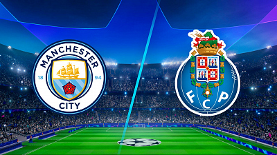 UEFA Champions League - Man. City vs. Porto - 3pm ET