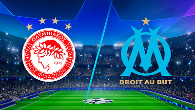 UEFA Champions League - Olympiacos vs. Marseille - 3pm ET