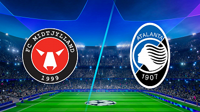 UEFA Champions League - Midtjylland vs. Atalanta - 3pm ET