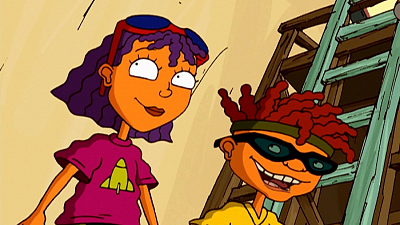 Rocket Power - New Squid on the Block/Down The Drain