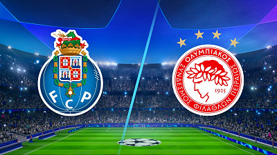 UEFA Champions League - Full Match Replay: Porto vs Olympiacos