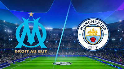 UEFA Champions League - Full Match Replay: Marseille vs Man City