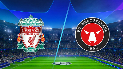 UEFA Champions League - Full Match Replay: Liverpool vs Midtjylland