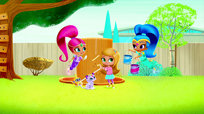 Shimmer and Shine - Genie Treehouse