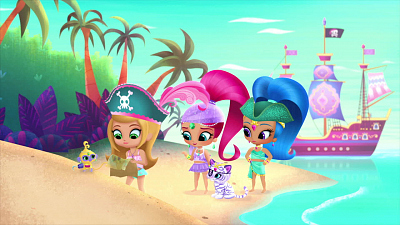 Shimmer and Shine - Ahoy, Genies!