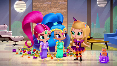 Shimmer and Shine - A Very Genie Halloweenie
