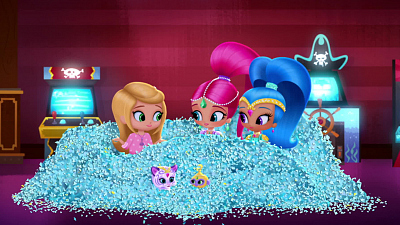 Shimmer and Shine - Game On