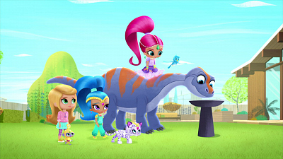Shimmer and Shine - Dino Might!