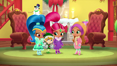 Shimmer and Shine - Santa's Little Genies