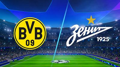 UEFA Champions League - Dortmund vs. Zenit - 4pm ET