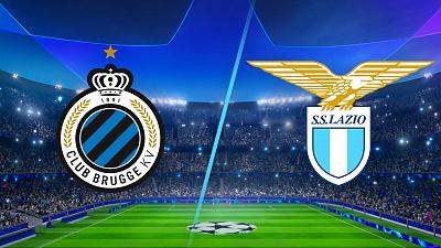 UEFA Champions League - Club Brugge vs. Lazio - 4pm ET
