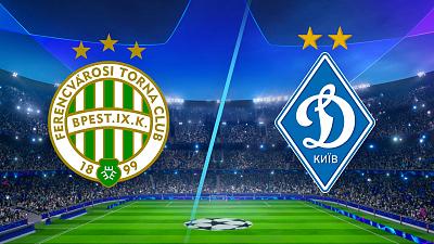 UEFA Champions League - Ferencváros vs. Dynamo Kyiv - 4pm ET
