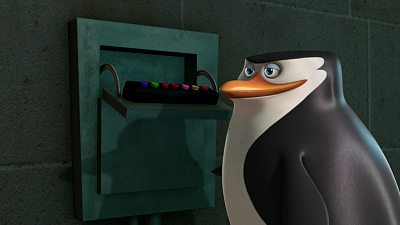The Penguins of Madagascar - Marble Jar Head/Good Night and Good Chuck