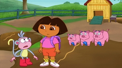 Dora the Explorer - Three L'il Piggies