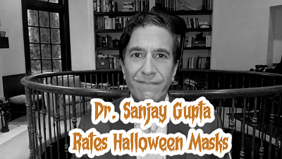 The Late Show with Stephen Colbert - Dr. Sanjay Gupta Rates Halloween Masks