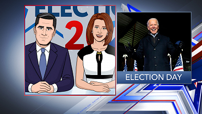 Tooning Out The News - 11/3/20 SUPER PANEL ELECTION COVERAGE (Dana Milbank)