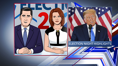 Tooning Out The News - 11/4/20 SUPER PANEL ELECTION NIGHT COVERAGE (Michael Isikoff)