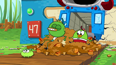 Breadwinners - Stank Breath/Frog Day Afternoon