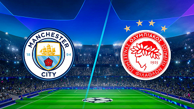 UEFA Champions League - Full Match Replay: Man. City vs. Olympiacos