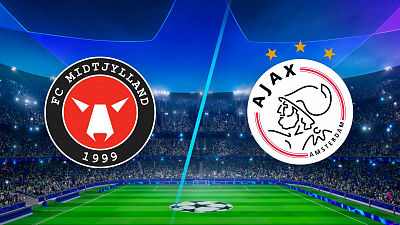 UEFA Champions League - Full Match Replay: Midtjylland vs. Ajax