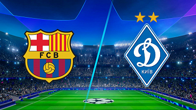 UEFA Champions League - Full Match Replay: Barcelona vs. Dynamo Kyiv