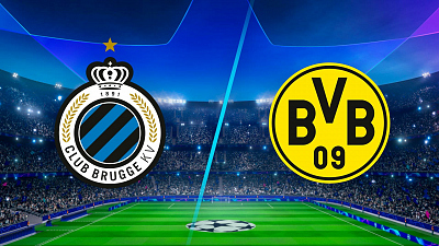 UEFA Champions League - Full Match Replay: Club Brugge vs. Dortmund
