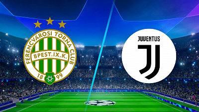 UEFA Champions League - Full Match Replay: Ferencvaros vs. Juventus