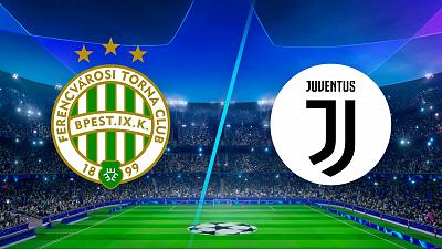 UEFA Champions League - Full Match Replay: Ferencvaros vs. Juventus