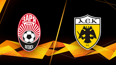 UEFA Europa League - Full Match Replay: Zorya Luhansk vs. AEK