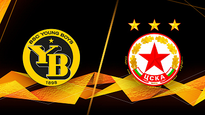 UEFA Europa League - Full Match Replay: Young Boys vs. CSKA-Sofia
