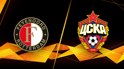 UEFA Europa League - Full Match Replay: Feyenoord vs. CSKA Moskva