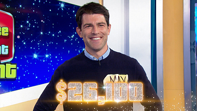 The Price Is Right - Max Greenfield Is A Great Guesser On The Price Is Right At Night