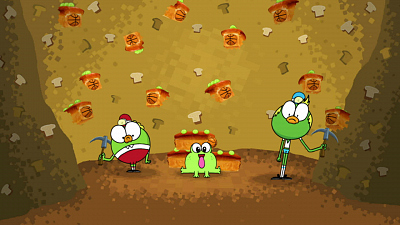 Breadwinners - Quazy for Vanessa/Tunnel of Fear