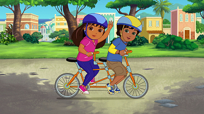 Dora and Friends: Into the City! - Buddy Race