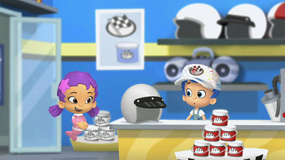 Bubble Guppies - The Crayon Prix