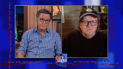 The Late Show with Stephen Colbert - 11/12/20 (Michael Moore, Sara Bareilles, Steve Carell)