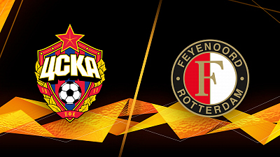 UEFA Europa League - CSKA Moskva vs. Feyenoord - 1pm ET