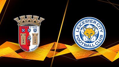 UEFA Europa League - Braga vs. Leicester- 1pm ET