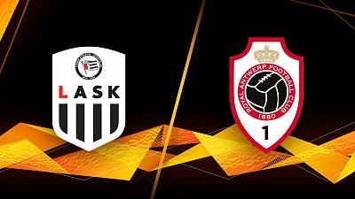 UEFA Europa League - LASK vs. Antwerp - 1pm ET