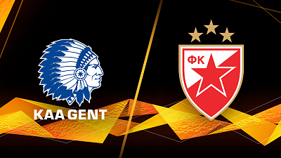 UEFA Europa League - Gent vs. Crvena Zveda - 1pm ET